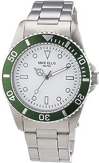 Mike Ellis New York Men's Quartz Watch M2969ASM/3 M2969ASM/3 with Metal Strap