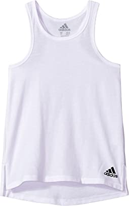 adidas Kids Long Jump Tank Top (Big Kids)