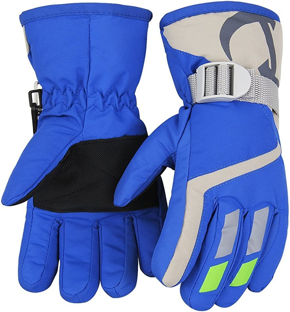 Kids Winter Warm Gloves For Skiing/Cycling Children Mittens For 4 To 6 Years Old