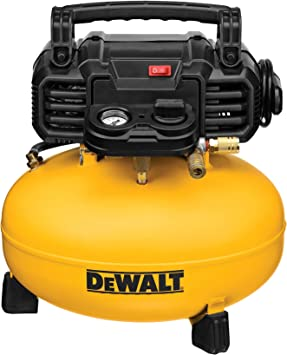 DEWALT Pancake Air Compressor, 6 Gallon, 165 PSI (DWFP55126): image