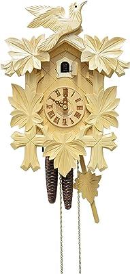 August Schwer Cuckoo Clock Five Leaves, Bird
