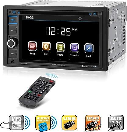 BOSS Audio BV9364B Car Stereo DVD Player – Double Din,...