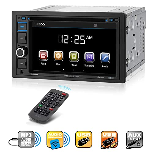 BOSS Audio BV9364B Car Stereo DVD Player – Double Din, Bluetooth Audio and Hands Free