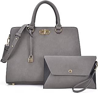 Women Handbags Satchel Bag Ladies Purse Tote Shoulder Bag with Matching Wallet