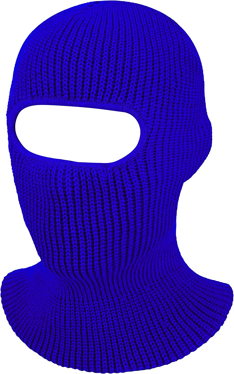SATINIOR 1-Hole Knitted Full Face Cover Adult Winter Ski Balaclava for Outdoors