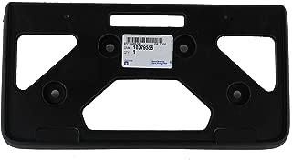 Genuine GM 10379556 License Plate Bracket, Front