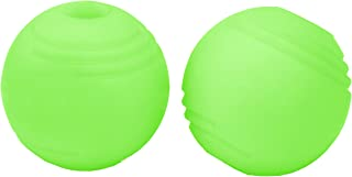 """Chew King 3"""" Glowing Fetch Ball, Dog Ball Toys, 2 Pack, Fits Ball Launcher"""