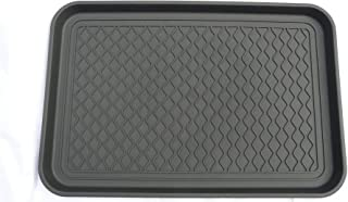 "Ottomanson Boot Tray, 23"" X 15"", Black"