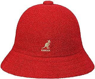 قبعة Kangol كاجوال برمودا للرجال بطراز كلاسيكي، سكارليت (X-Large)