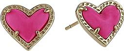 Ari Heart Stud Earrings