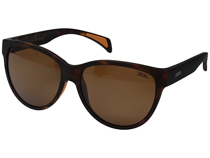 Zeal Optics  Isabelle (Matte Tortoise with Copper Lens) Sport Sunglasses