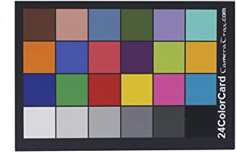 CameraTrax 24ColorCard-2x3 with White Balance and User Guidebook