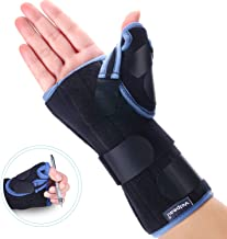 VELPEAU Wrist Brace with Thumb Spica Splint for De Quervain's Tenosynovitis, Carpal..