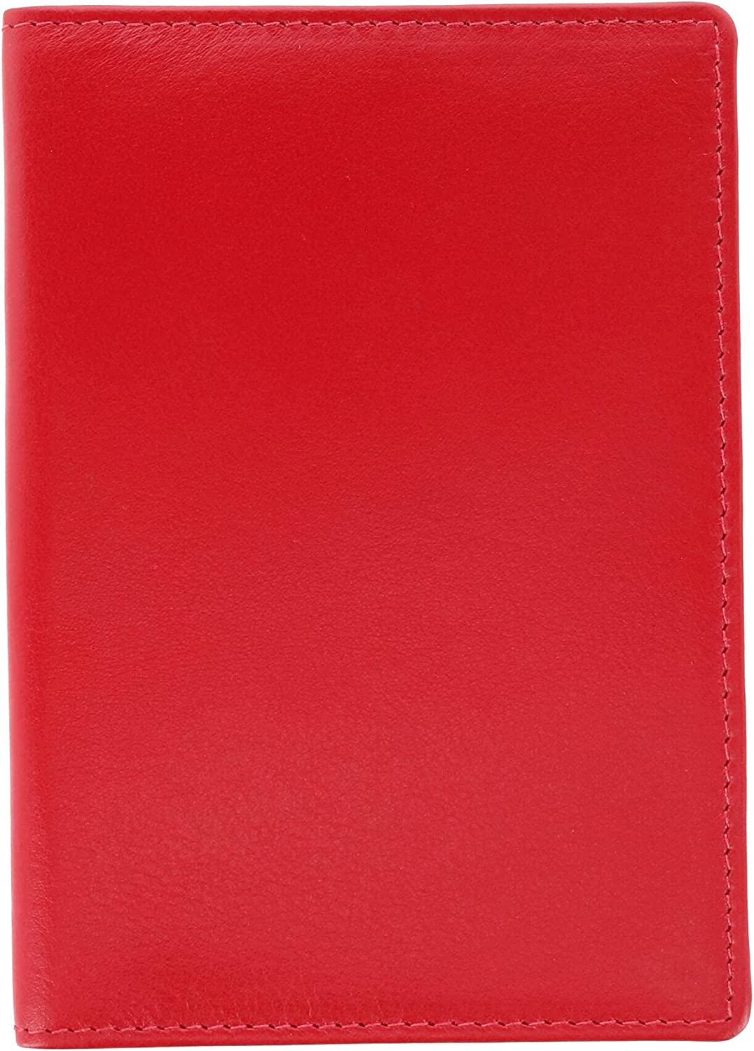 ILI Leather Solid Color Vaccine Card and ID Holder