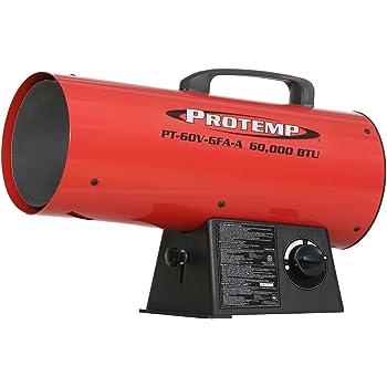 Protemp 60,000 BTU Variable Propane Forced Air Heater