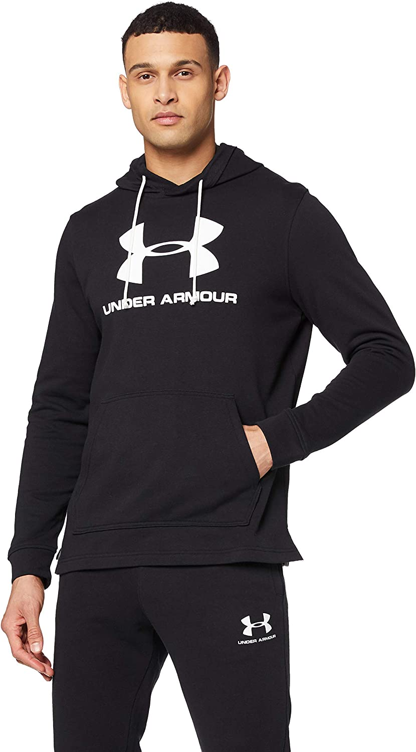 Under Armour Sportstyle Terry Logo Hoodie, Sudadera con Capucha Hombre
