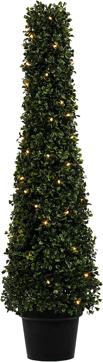 Vickerman Super popular specialty store Everyday Artificial Pre-Lit Boxwood In 36 New mail order Topiary Cone