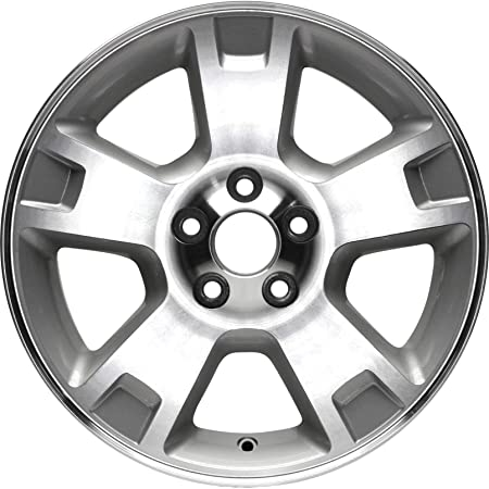 Partsynergy Replacement For New Aluminum Alloy Wheel Rim 17 Inch Fits 2002-2005 Ford Explorer 5-114.3mm 5 Spokes