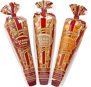 Popcornopolis Gourmet Popcorn Mini cone 24 pack - Classic