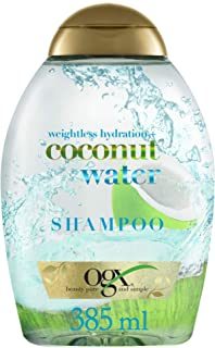 OGX, Shampoo, Weightless Hydration+ Coconut Water, 385ml