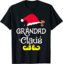 Merry Santa Grandad Claus Christmas Family Gifts T-Shirt