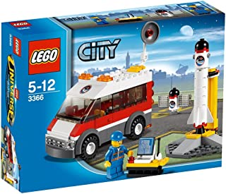 Lego Space Satellite Launch Pad (3366) - 2011 Release