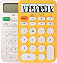 $39 » GEINIFAFA Calculator Standard Function Desktop Electronic Calculators 12 Digit Large LCD Display and Big Button for Daily ...