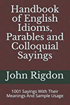Best colloquial sayings in english Reviews