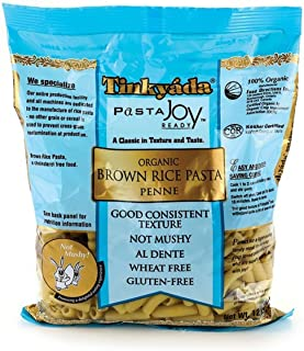 Tinkyada, Organic Brown Rice Pasta; Penne, Pack of 10, Size - #, Quantity - 1 Case
