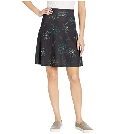 FIG Clothing May Skirt (Black Magnolia) Women