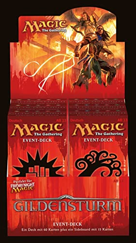 Wizard of the Coast 62805 - Magic the Gathering Gildensturm, Event Deck, DE