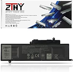 ZTHY GK5KY Battery for Dell Inspiron 11 3147 3148 3152 3157 Inspiron 13 7347 7348 7352 7353 7359 Inspiron 15 7558 P55F001 7568 P20T Laptop 04K8YH 4K8YH RHN1C 92NCT 451-BBKK 11.1V 43Wh 3Cell