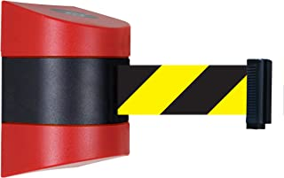 Recycled Rubber 7.5 Length Light Blue Belt 16 Length Tensabarrier 886-21-STD-NO-L3X-C-7.5 Red Post 2 Wide 2.5 Wide 38 Height
