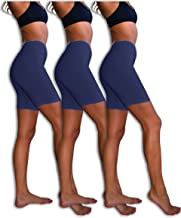 navy blue bike shorts women's