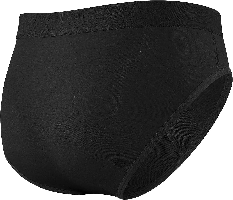 SAXX Underwear Men's Briefs – UNDERCOVER Men's Underwear – Pouch Briefs with Fly and Built-In BallPark Pouch Support