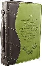 Green «Fe» Bible / Book Cover - Hebrews 11:1, 6 (Medium) (Spanish Edition)