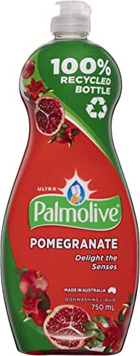 Palmolive Ultra Strength Concentrate Dishwashing Liquid Pomegranate Vibrant Fruity Scent, 750mL