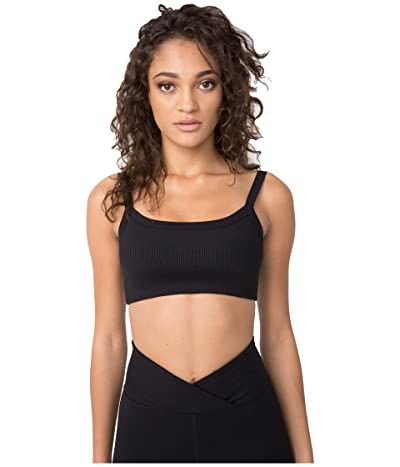 YEAR OF OURS Ribbed Bralet 2.0 (Black) Women