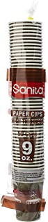 Sanita Paper Cups, 50 Cups, Jc101, Multi Color