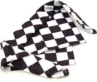12 Pack Checkered Flag Bandanas - Racing Party Favors
