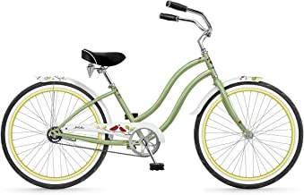 """Phat Cycles Melodie Single-Speed Girl's 24"""" Beach Cruiser - 2017 24 GREEN"""