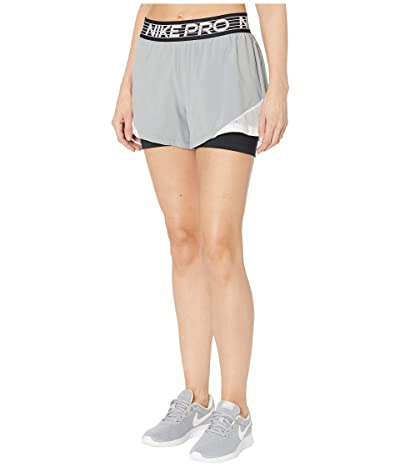 Nike Flex 2-in-1 Shorts Woven Essential (Particle Grey/Pure/White/Black) Women