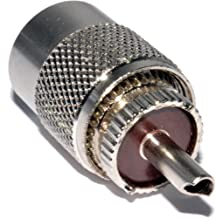 RG174 RG 58 RG 59 Kagni Crimpadora BNC con Conectores Macho de 6 UNIDS HUF para Conectores F y BNC // Cables RG 6