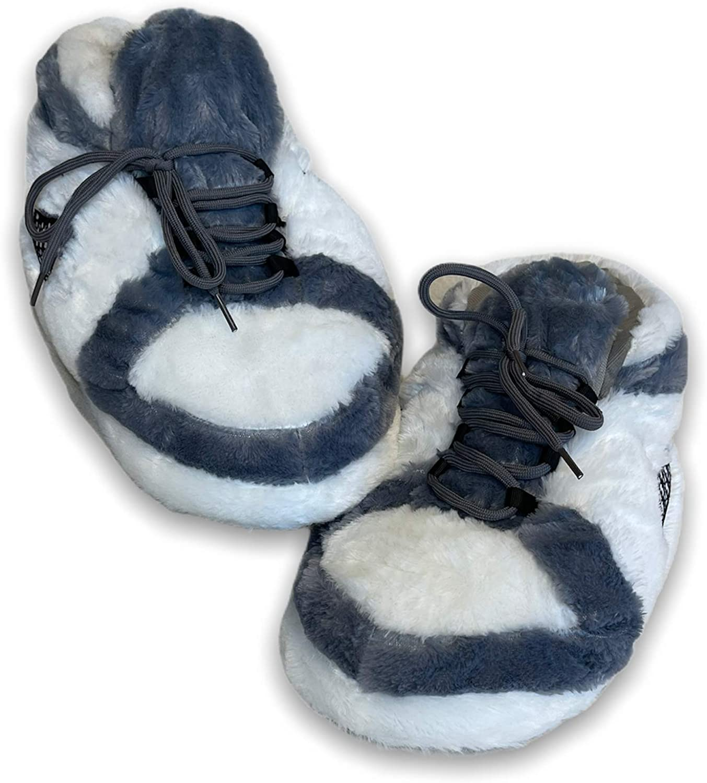 KoziKickz Free Shipping Max 84% OFF Cheap Bargain Gift Sneaker Slippers Plush Comfy Non-Slip Ultra Sole