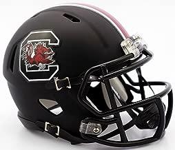 New Riddell South Carolina Gamecocks Matte Black Speed Mini Football Helmet