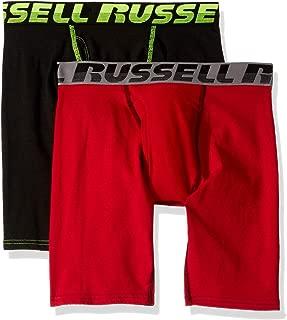 Men's Performance Comfort Stretch Boxer Briefs (2 Pack) Underwear
