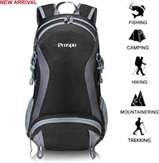 Prospo 35L Hiking Shoulder Backpack Large Lightweight Packable Daypack Water Resistant Outdoor Women Men Travel Pack for Camping Cycling