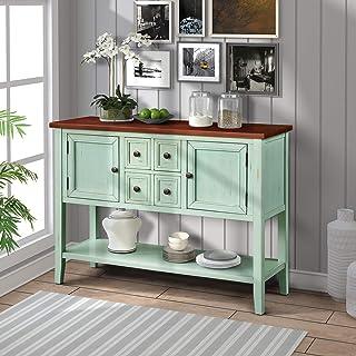 Amazon.com: Blue - Sofa & Console Tables / Tables: Home ...