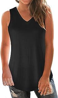 onlypuff Women Criss Cross Tops Short Sleeve Summer Casual T Shirts