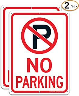 no parking signs for businesses